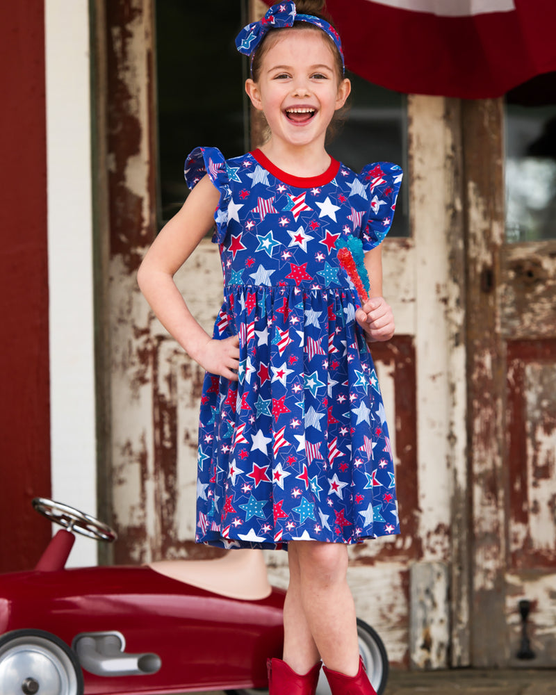 Star-Spangled Stars Lizzy Dress