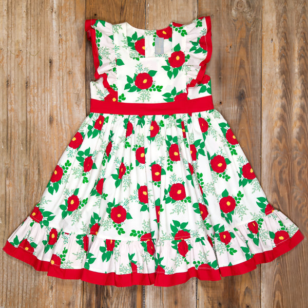 Christmas Roses Catalina Dress