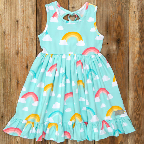 Playful Summer Surprise Perla Rainbow Dress