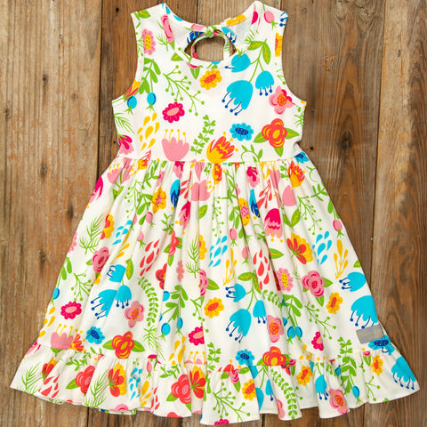 Playful Summer Surprise Perla Floral Dress