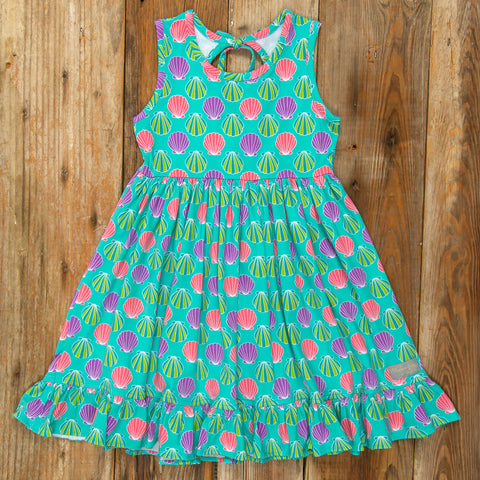 Playful Summer Surprise Perla Sea Shells Dress