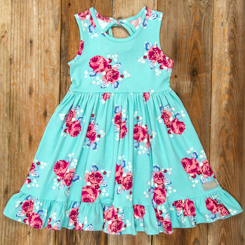 Playful Summer Surprise Perla Roses Dress