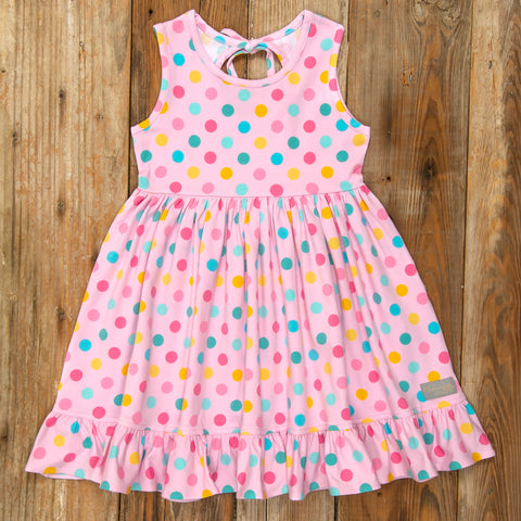 Playful Summer Surprise Perla Dot Dress