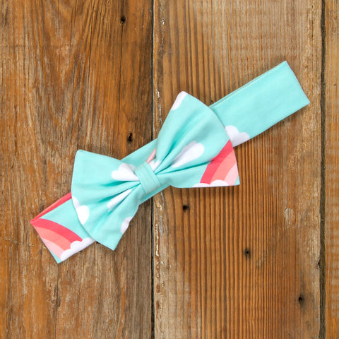 Playful Summer Surprise Hope Rainbow Headband