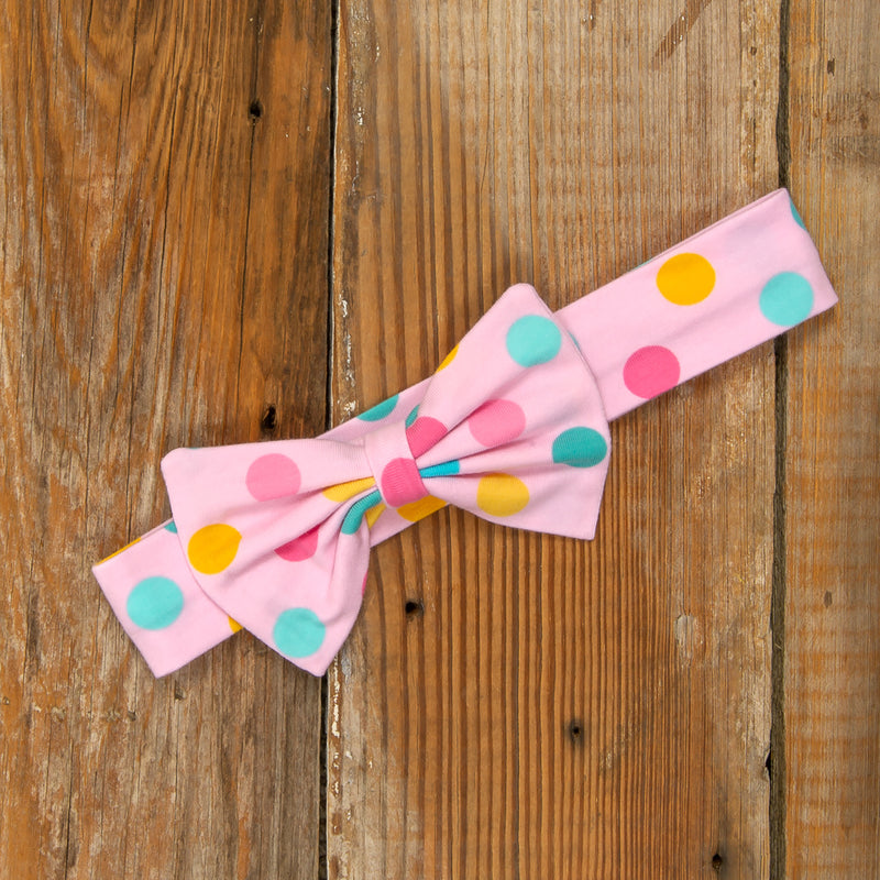 Playful Summer Surprise Hope Dot Headband