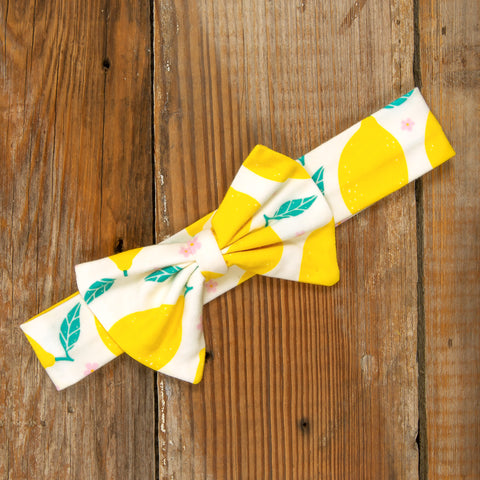 Playful Summer Surprise Hope Lemons Headband