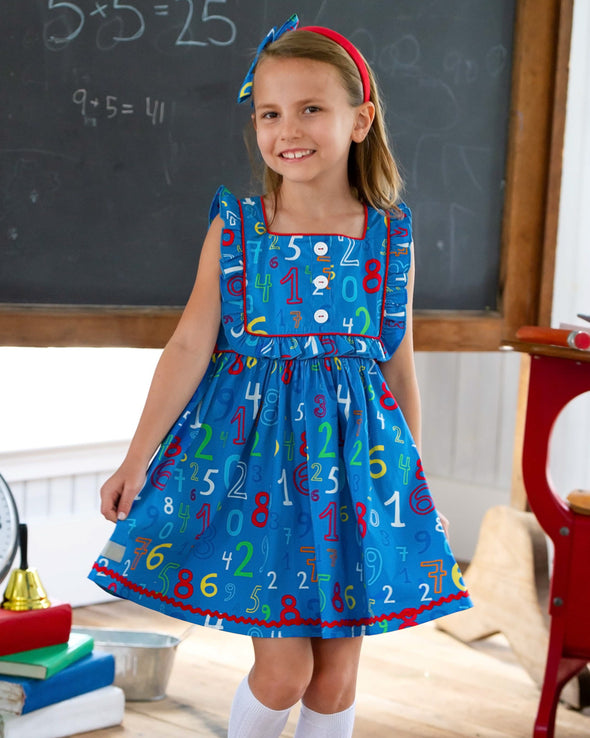 Math Class Woven Dress