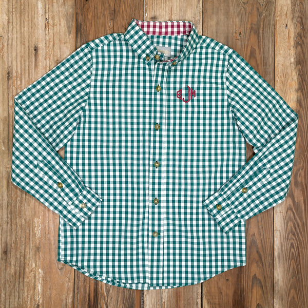 Silent Night James Green Button Down