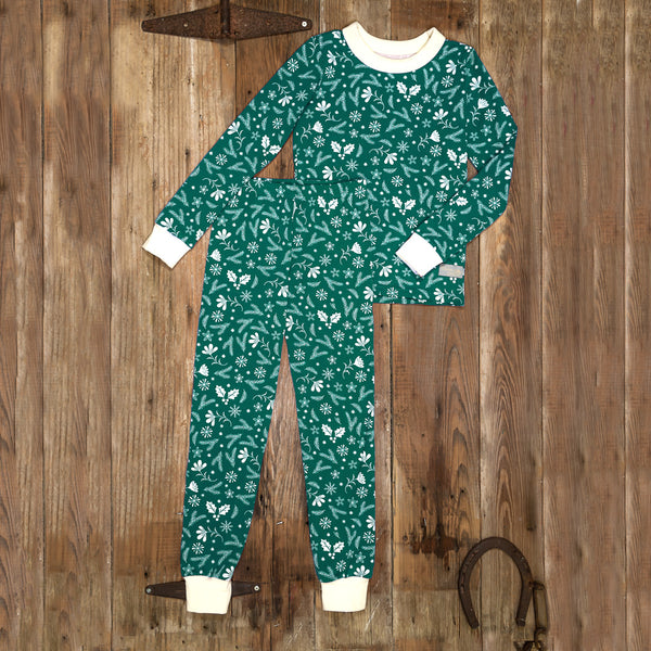 Silent Night Carson Green PJ Set