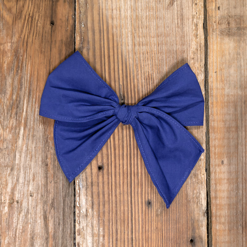 Silent Night Sonni Blue Bow