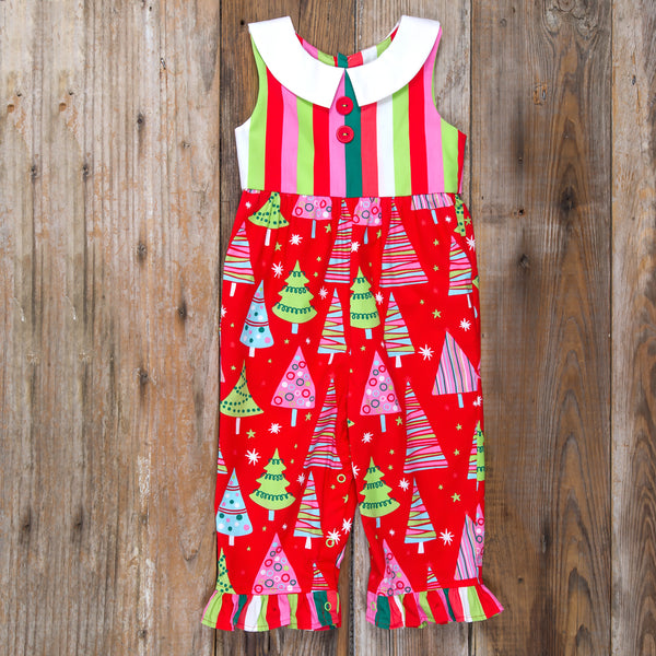 Christmas Tree Nanette Romper