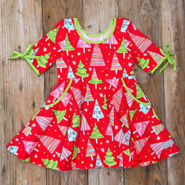 Christmas Tree Hadlee Dress