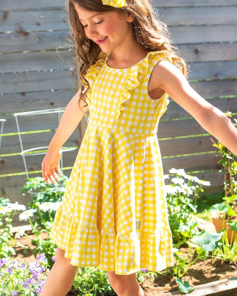 Butterfly Garden Demi Dress