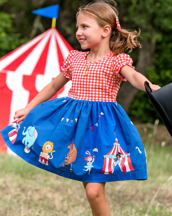 Circus Parade Rhonda Dress
