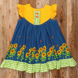 Fields of Gold Gigi Dress