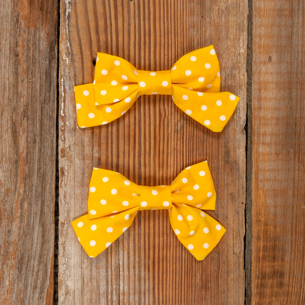 Fields of Gold Mindy Dot Bows