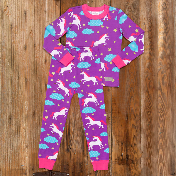 Pajama Party Unicorn PJ Set