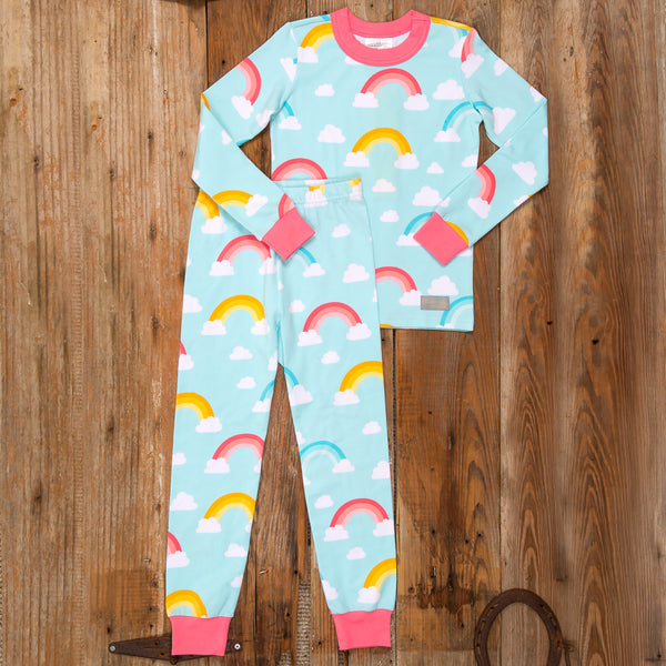 Pajama Party Rainbow PJ Set