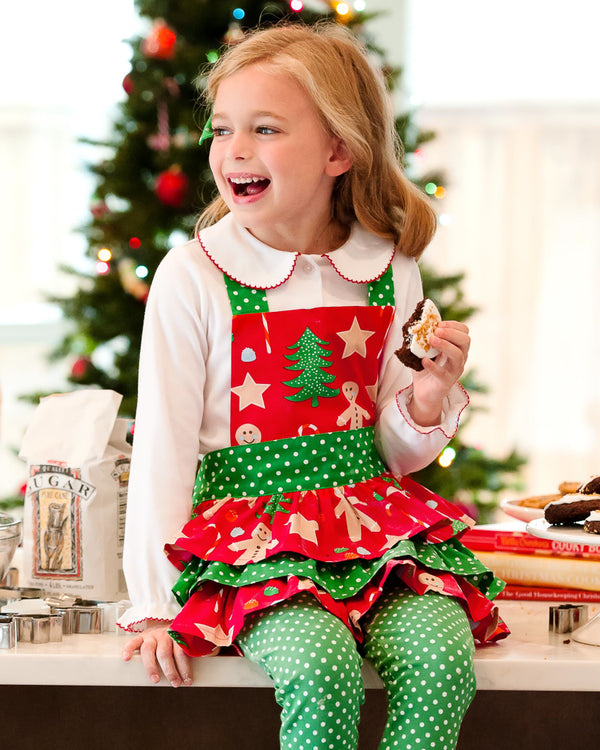 Christmas Cookies Braelynn Child Apron