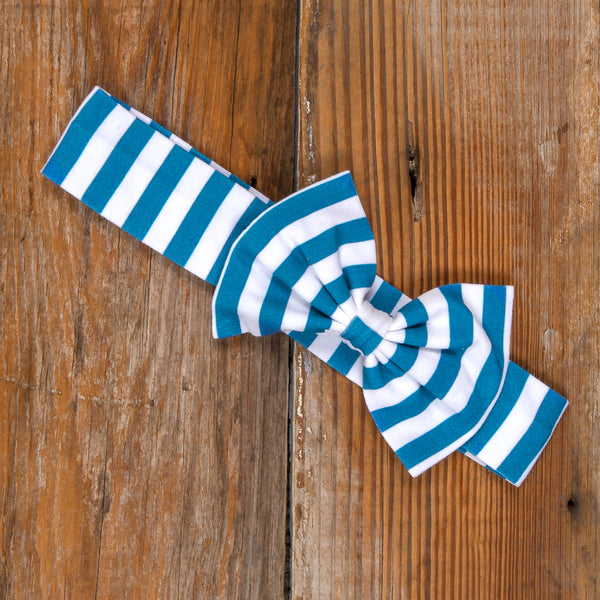Thanksgiving Day Parade Hope Blue Stripe Headband