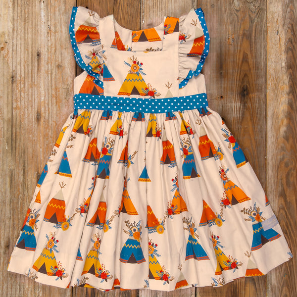 Thanksgiving Day Parade Catalina Teepee Dress