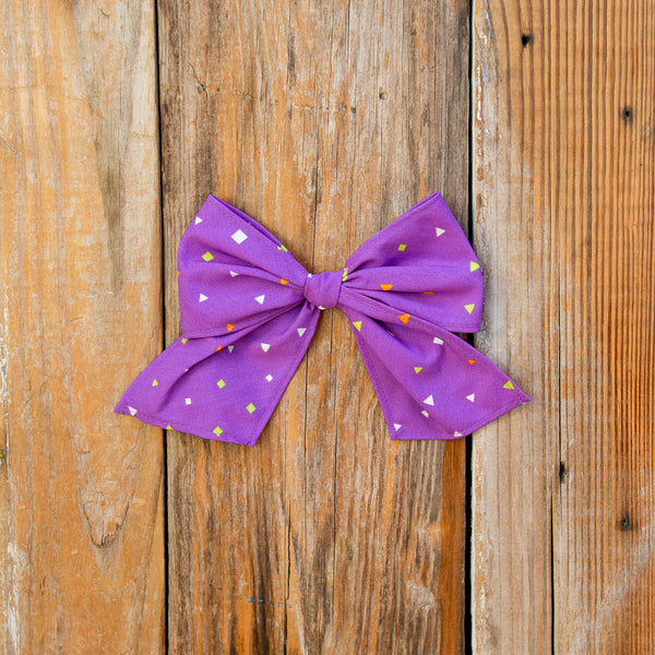 Spooky Surprise Sonni Confetti Bow