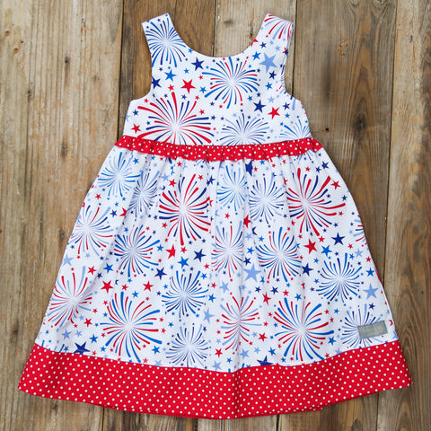 Star-Spangled Fireworks Penny Dress