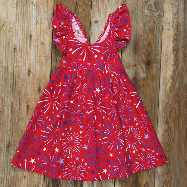 Star-Spangled Fireworks Serena Dress