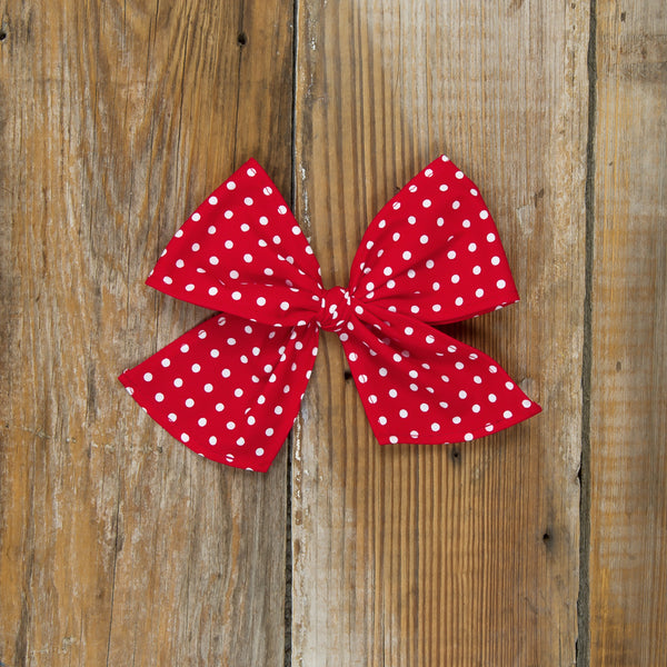 Star-Spangled Red Dot Sonni Bow