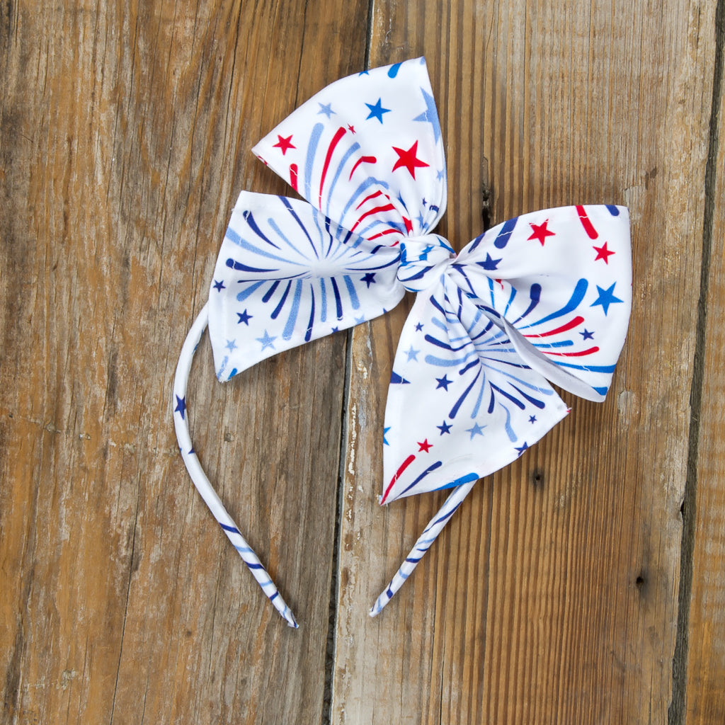 Star-Spangled Fireworks Bea Headband