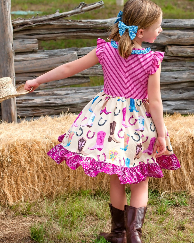 Boots and Stripes Harper Dress