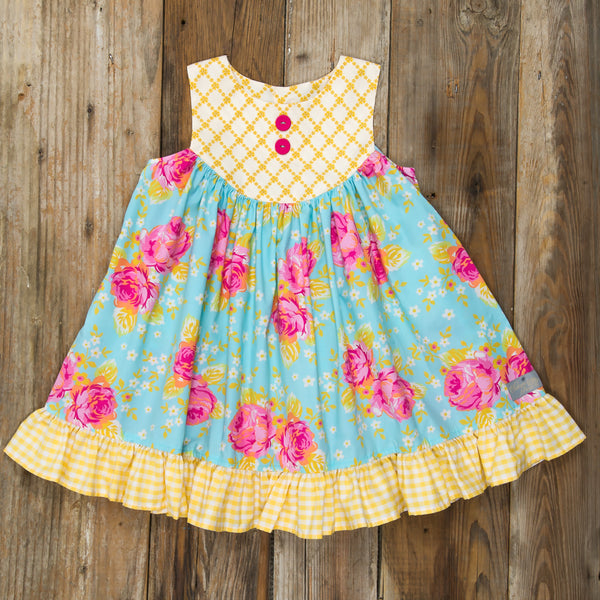 Easter Surprise Gigi Roses Dress
