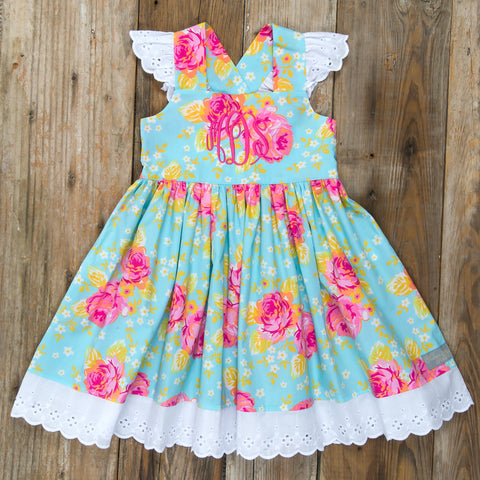 Easter Surprise Margaret Roses Dress