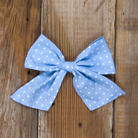 Easter Surprise Sonni Blue Dot Bow