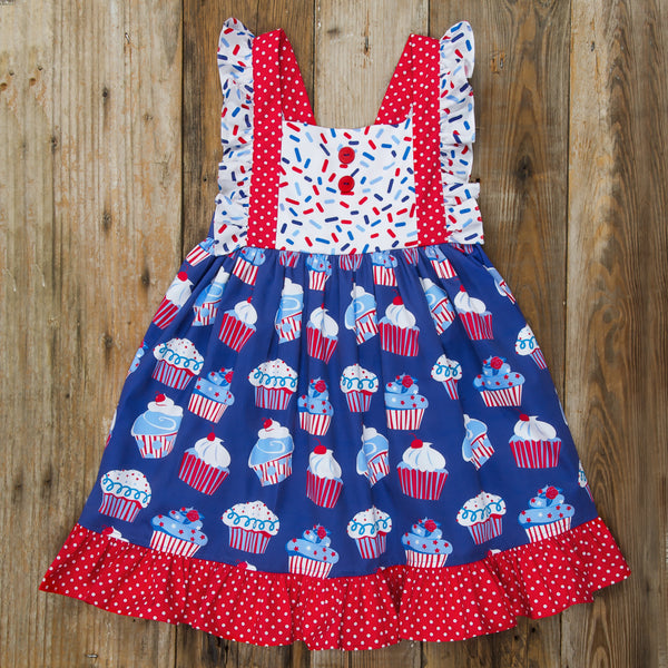 Star-Spangled Cupcakes Amelia Dress
