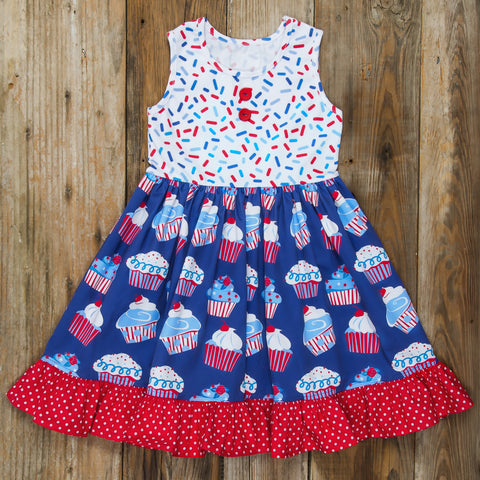 Star-Spangled Cupcakes Rhonda Dress