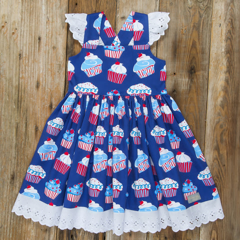 Star-Spangled Cupcakes Margaret Dress