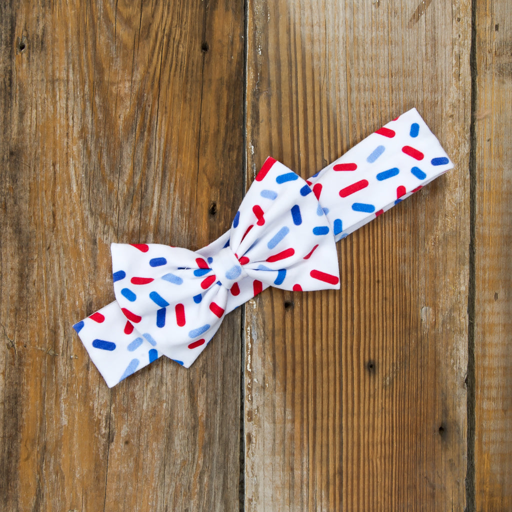 Star-Spangled Cupcakes Hope Headband