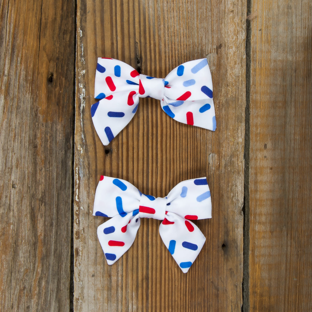 Star-Spangled Cupcakes Mindy Sprinkle Bows