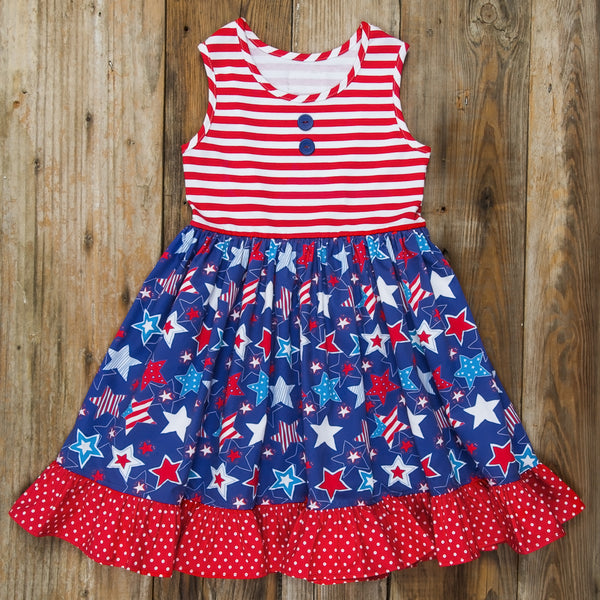 Star-Spangled Stars Rhonda Dress