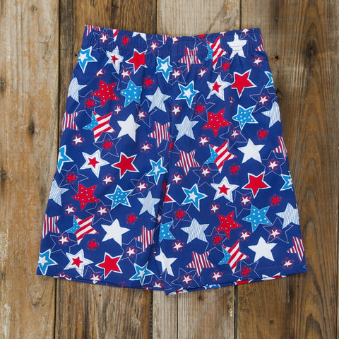 Star-Spangled Stars Mason Short