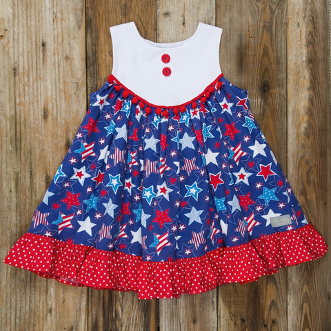 Star-Spangled Stars Gigi Dress