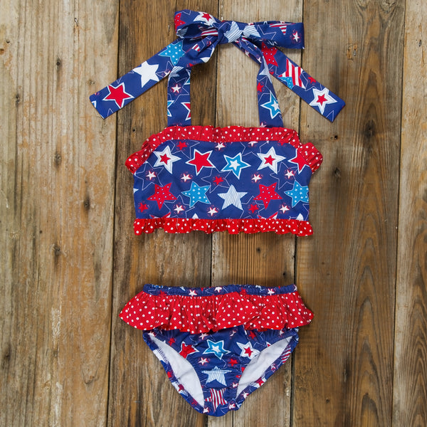 Star-Spangled Stars Dana Bikini Set