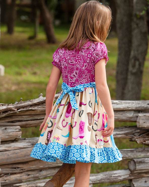 Boots and Bandana Rhonda Dress