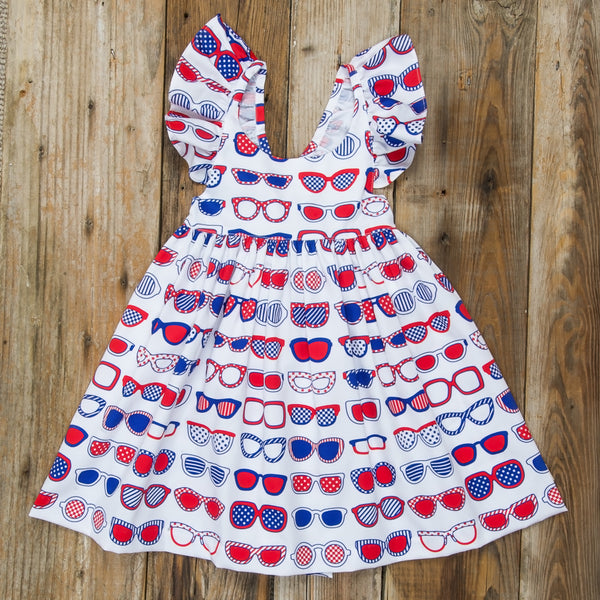 Star-Spangled Sunglasses Serena Dress