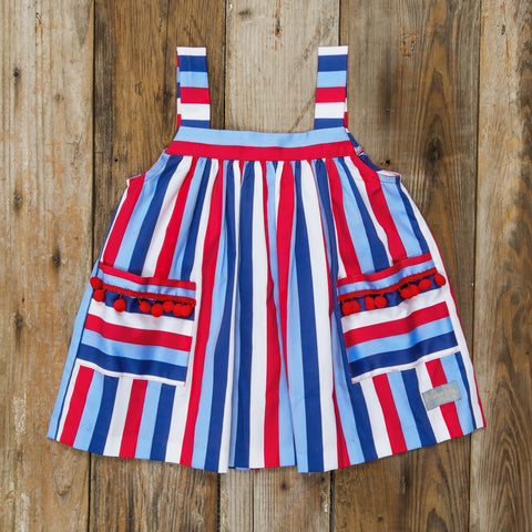 Star-Spangled Stripes Lettie Top