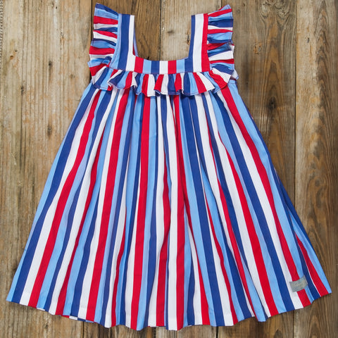 Star-Spangled Stripes Farrah Dress