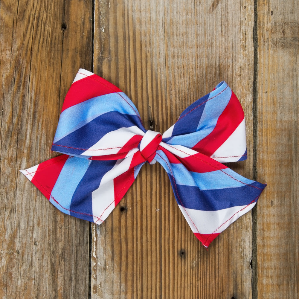 Star-Spangled Stripes Sonni Bow