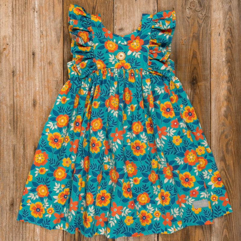 Thanksgiving Day Parade Lacey Floral Dress