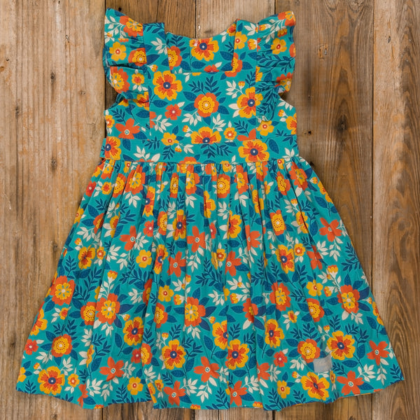 Thanksgiving Day Parade Catalina Floral Dress